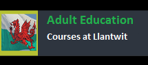Adult Education at Llantwit